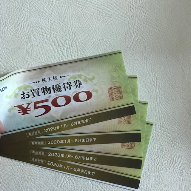 ヤマダ電機 株主優待 2019